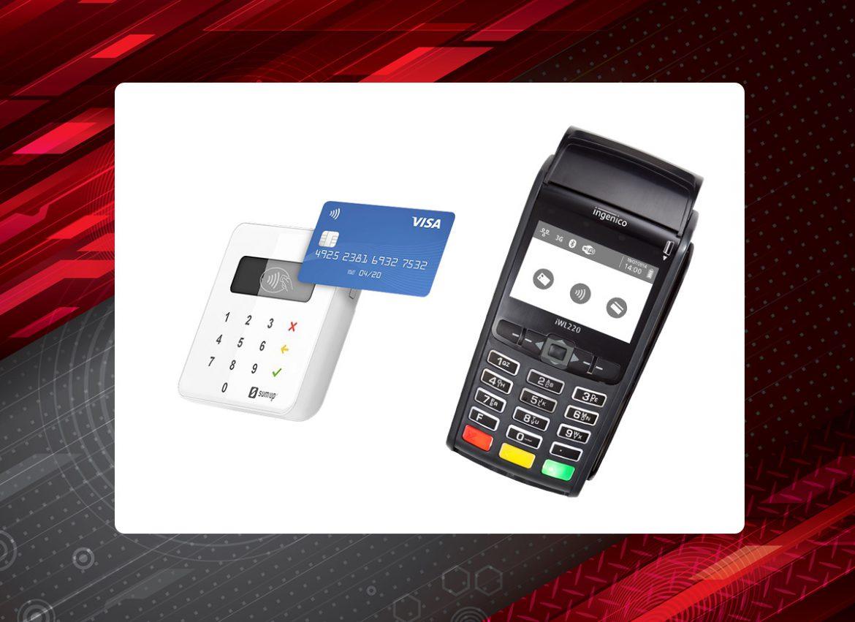Różne rodzaje terminali płatniczych